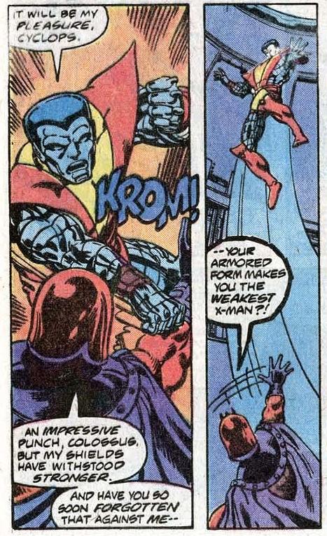 Uncanny X-Men 112 page 14 detail